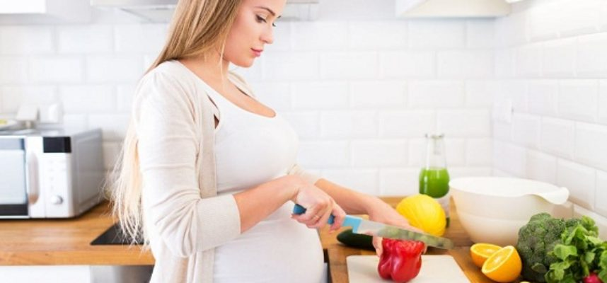 Healthy meal during pregnancy