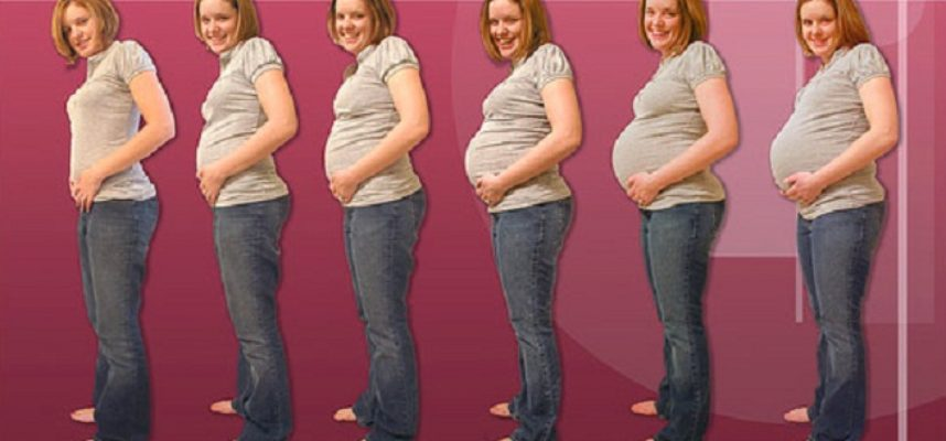 reduce gained weight after delivery